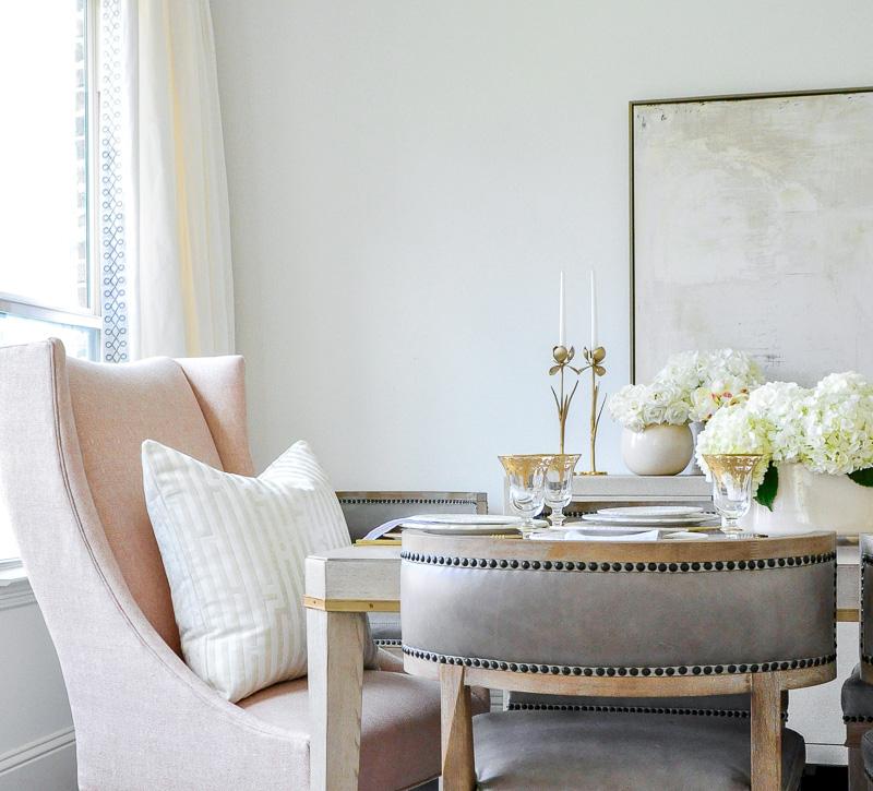 Elegant Dining Room Reveal  Transitional  Stylish