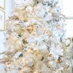 Dream Christmas Tree White Gold Rose Gold Decor Gold Designs
