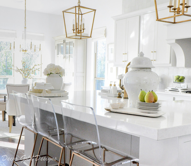 Ideas For Kitchen Counter Styling Decor Gold Designs