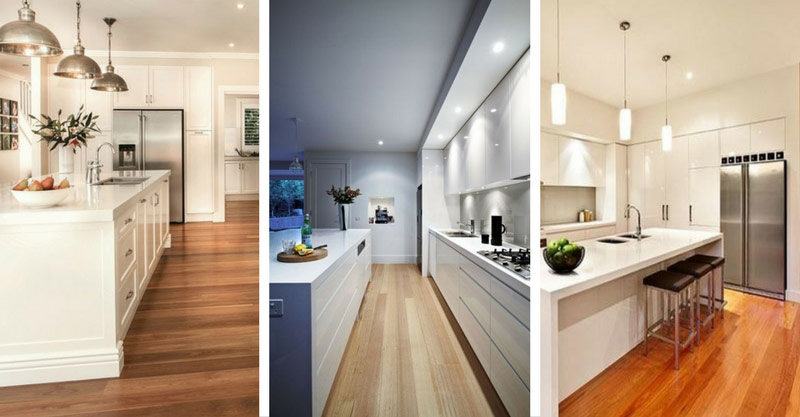 20 Wooden Floor Kitchen Designs For Natural Look Decor Home Ideas