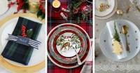20 Beautiful Christmas Table Setting Ideas