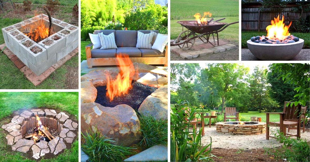 35 amazing diy outdoor fire pit ideas