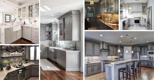 25 Best Gray Kitchen Cabinets Ideas For 2020 Decor Home Ideas