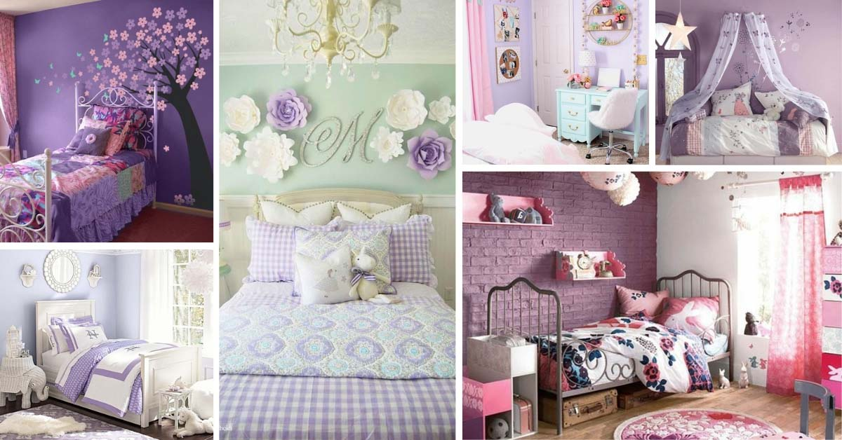 17 Unique Purple Bedroom Ideas For Teenage Girl Decor