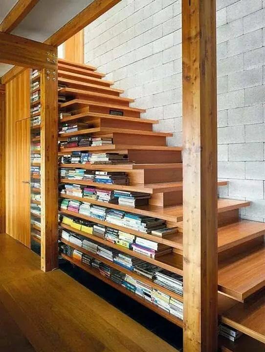 Cầu thang có tủ sách gắn sẵn # cầu thang # cầu thang # cầu thang # cầu thang #decorhomeideas