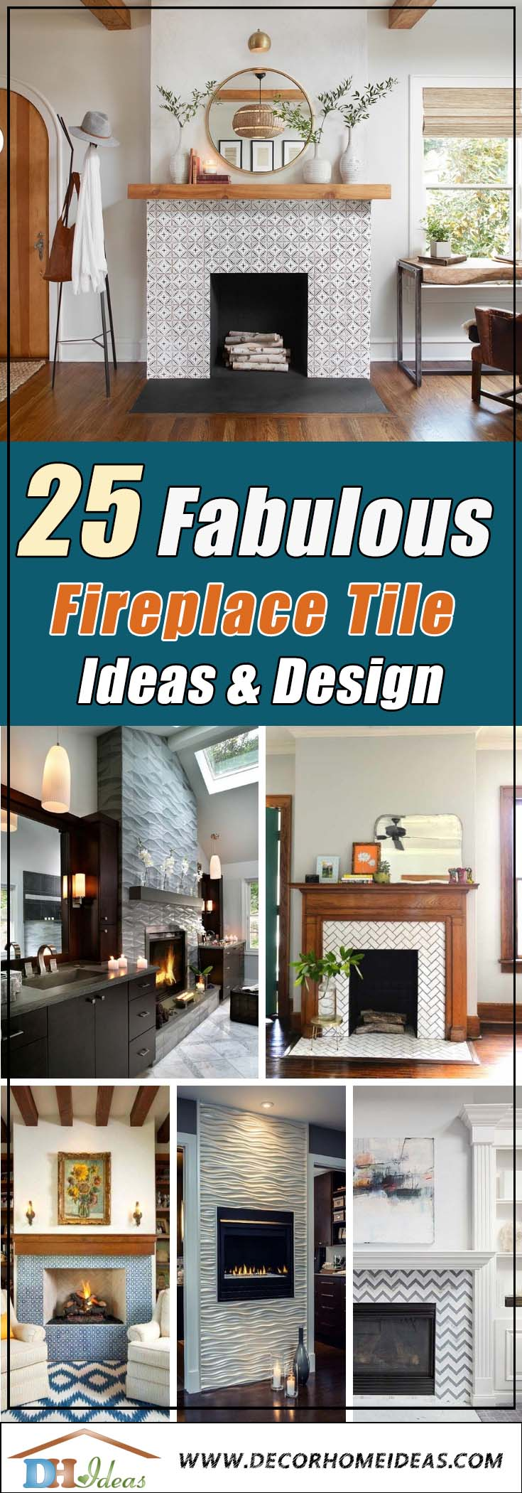 26 best fireplace tile ideas for 2021