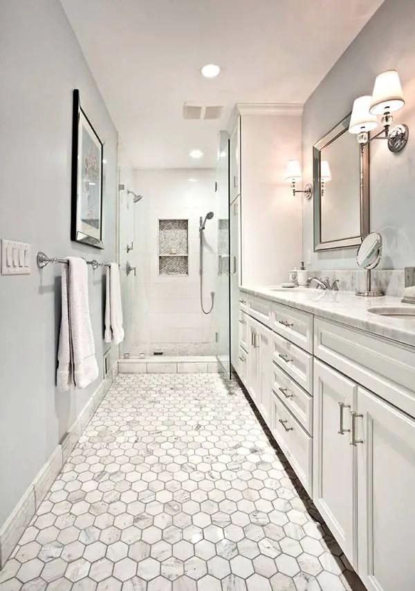 Thiết kế cổ điển Phòng tắm hẹp # phòng tắm # phòng tắm # phòng tắm #decorhomeideas