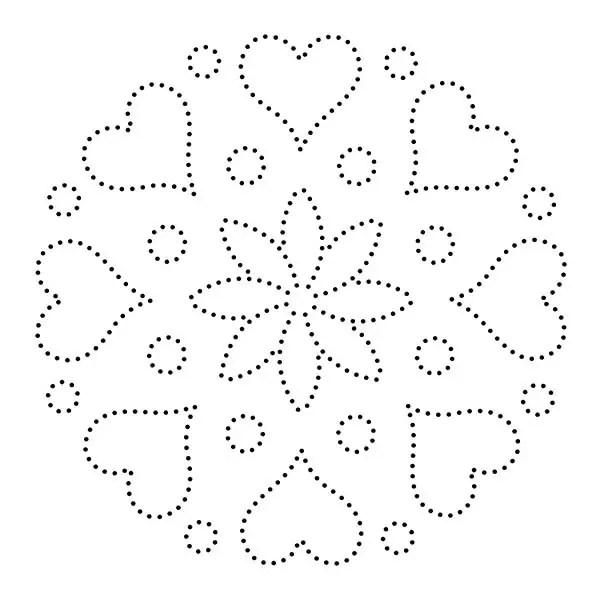 30 Free Printable String Art Patterns (Direct Download