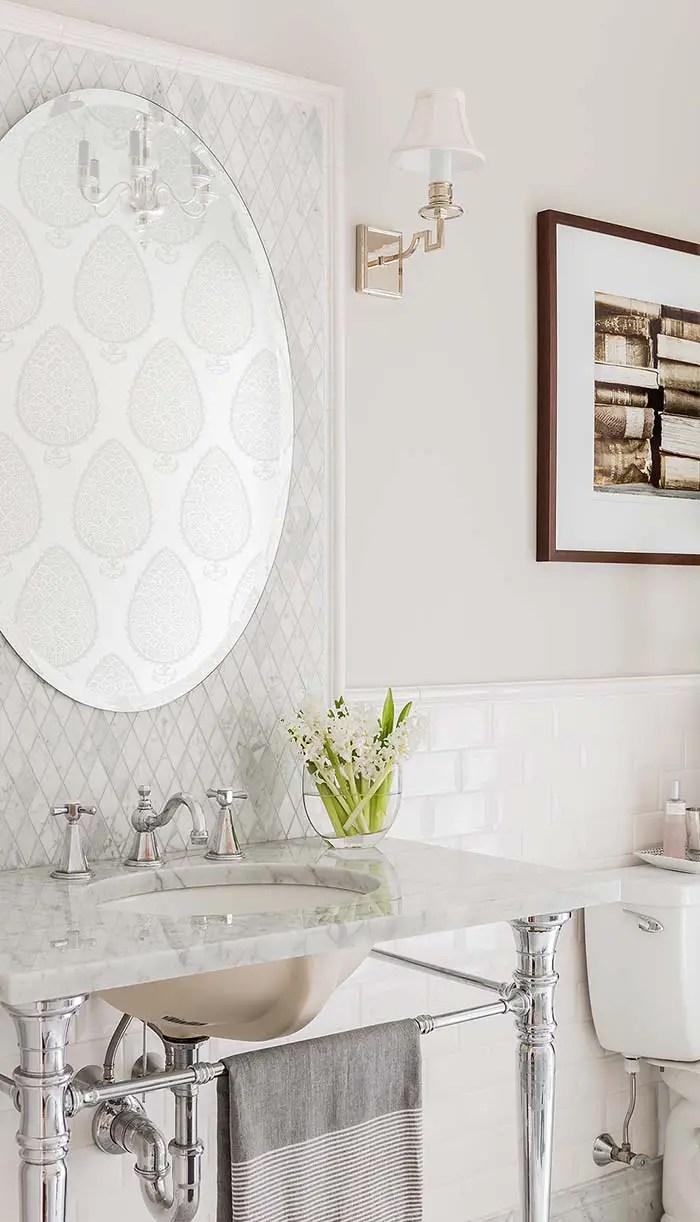 Phòng tắm với Tường sơn màu xám # màu sơn # màu sơn # màu sơn # màu sơn # màu sơn #decorhomeideas
