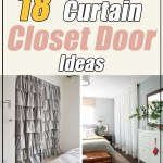 18 Tidy Curtain Closet Doors To Conquer The Mess Decor Home Ideas