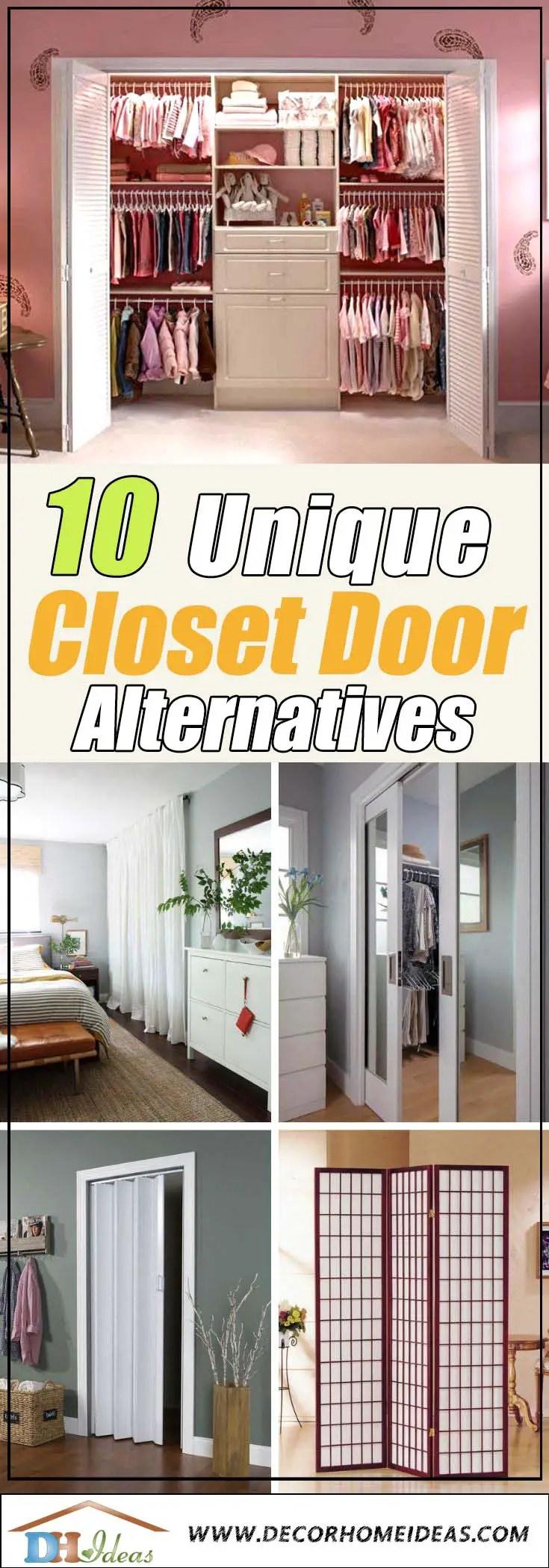 10 Best Closet Door Alternatives For 2020 Decor Home Ideas