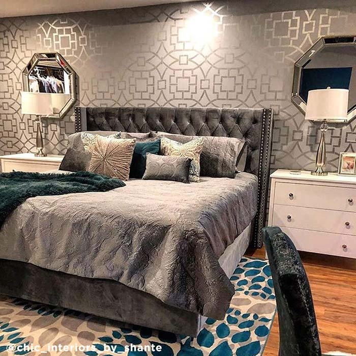 37 Beautiful Silver Bedroom Ideas Decor Home Ideas