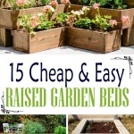 18 Cheap And Easy To Build Raised Garden Beds Decor Home Ideas