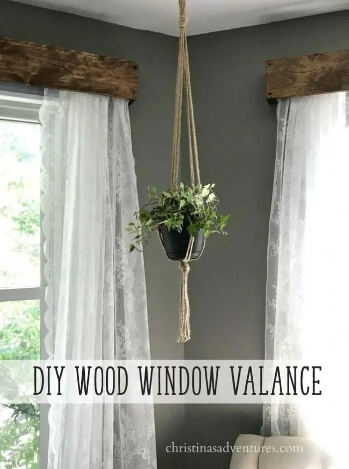 30 Rustic Farmhouse Window Treatment Ideas And Designs Decor Home Ideas