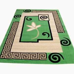 Nobel Aafreen Center Rug Green 84089 3ft By 5ft