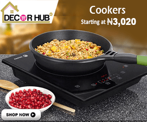 Buy Table Top Gas Cookers Online on www.decorhubng.com