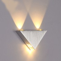 Discount offer on the 6W Silver Triangular Lamp ...