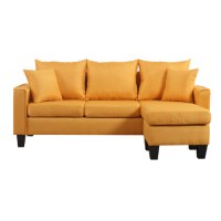 Buy affordable Yellow Modern Sectional Sofa here ...