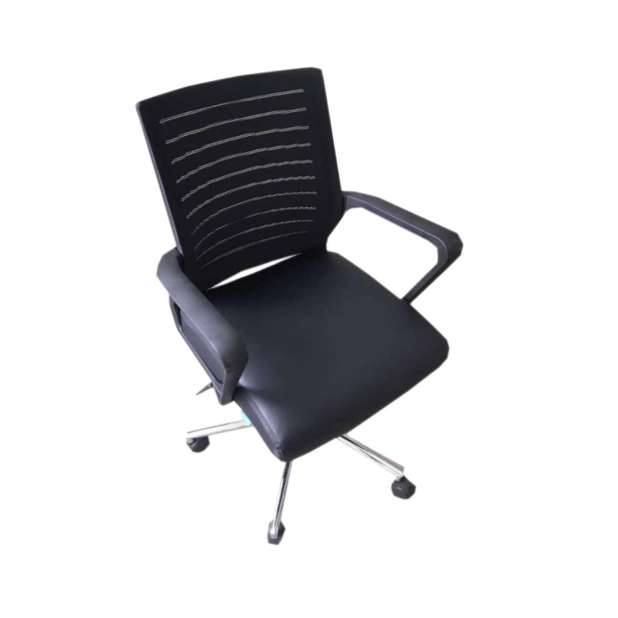 swivel chair nigeria redo sling patio chairs buy the black mesh office online in decorhubng