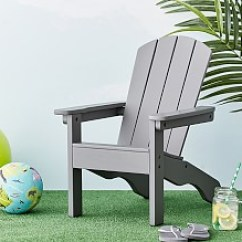 Kids Outdoor Chair Round Target Is It Necessary To Have Furniture Charcoal Adirondack Rustmdf