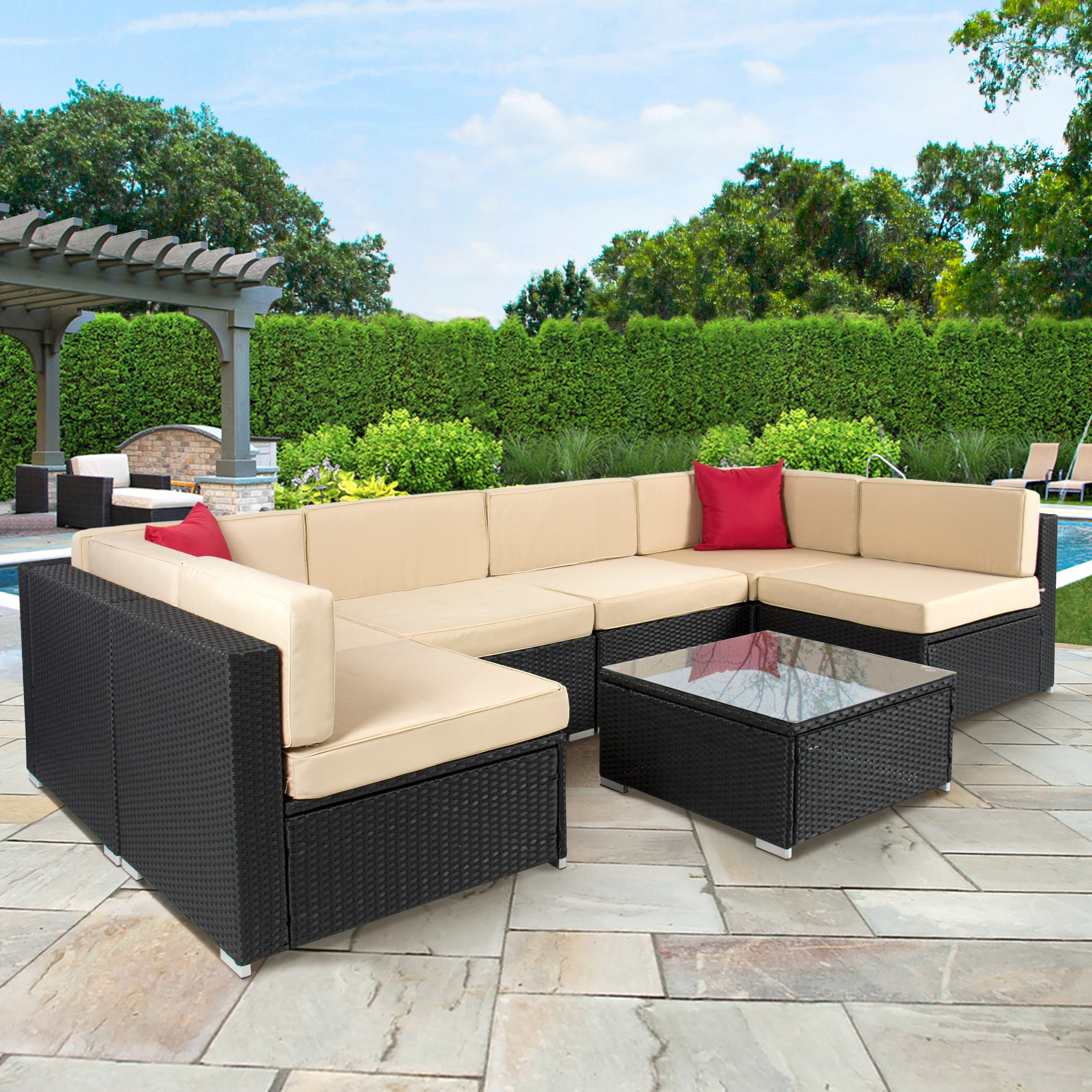 use rattan outdoor furniture for your