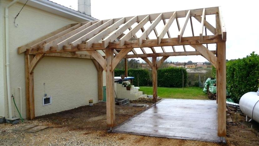 Wooden Carports For Protecting Your Car Decorifusta