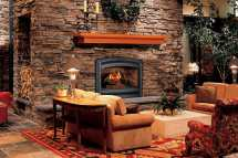 Rustic Interior Stone Fireplace Designs
