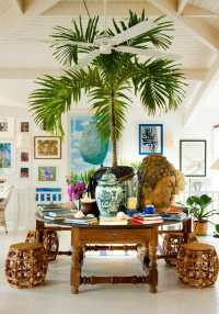 How To Bring The Tropics Into Your Home Interior