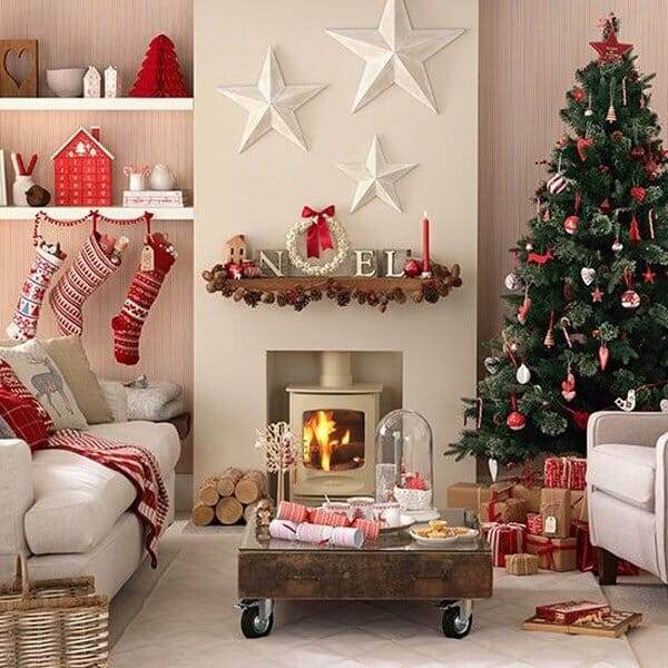 christmas decoration ideas for small living room desk design 10 best decorating decorilla top holiday