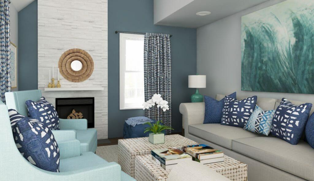 Beach Decor: 3 Online Interior Designer Rooms