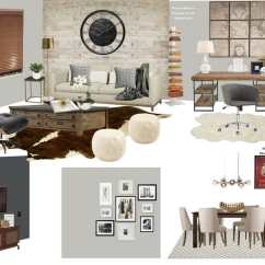 Images Of Modern Rustic Living Rooms Red Black And Grey Room Before After Design Online Decorilla Rachel H 3dmodel 5