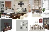 Before & After: Modern Rustic Living Room Design Online ...