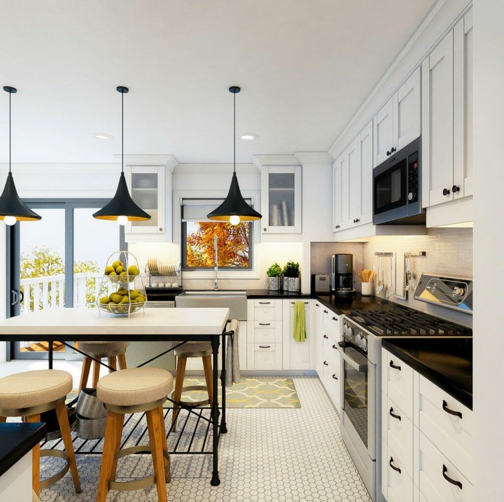 Before  After Online Interior Designer Kitchen  Decorilla