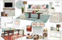 Online Interior Designer Beach Style Living Room - Decorilla