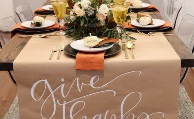 7 Fall Table Decorations That Your Guests Will Love