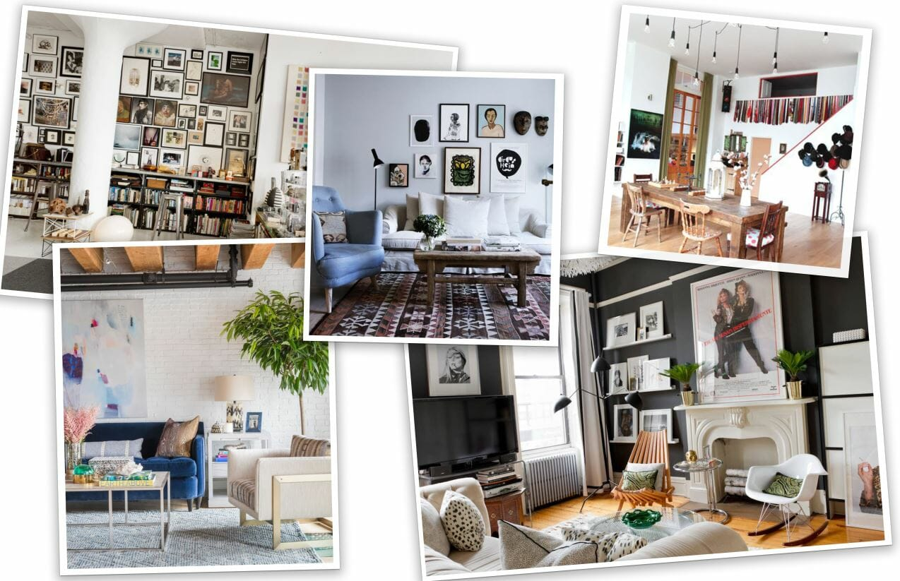 Before  After Eclectic Studio Apartment Design Online