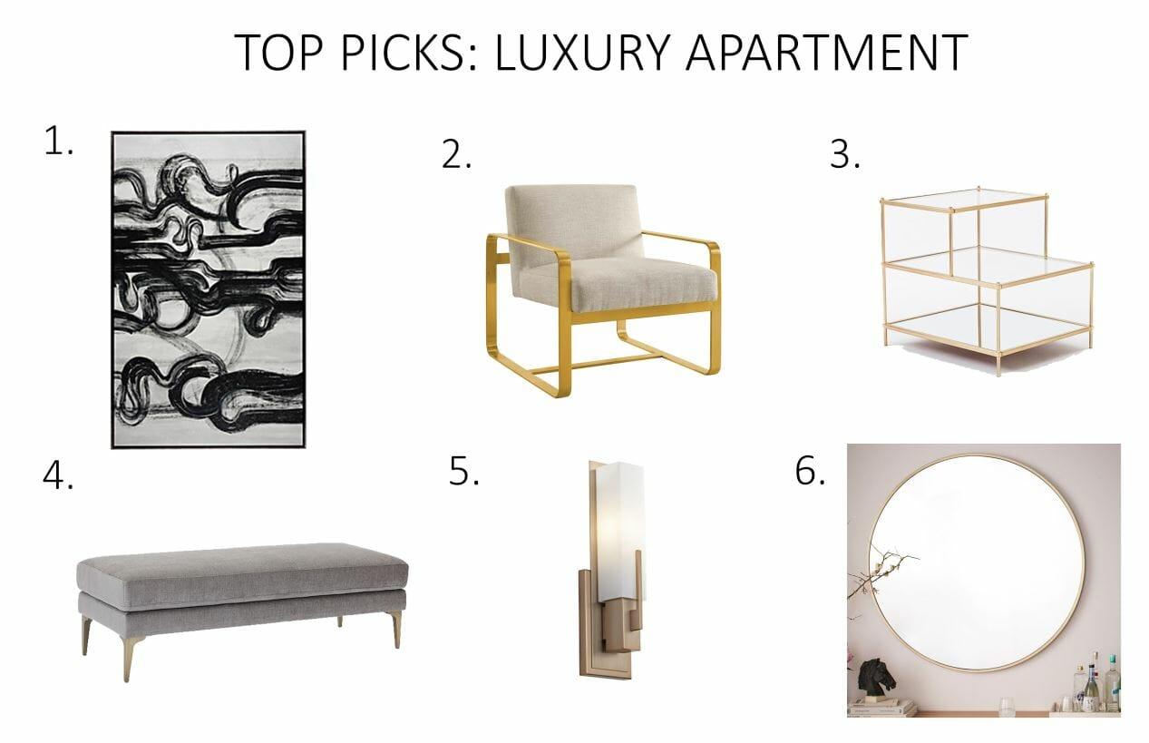 Before  After Luxury Apartment Design Online  Decorilla