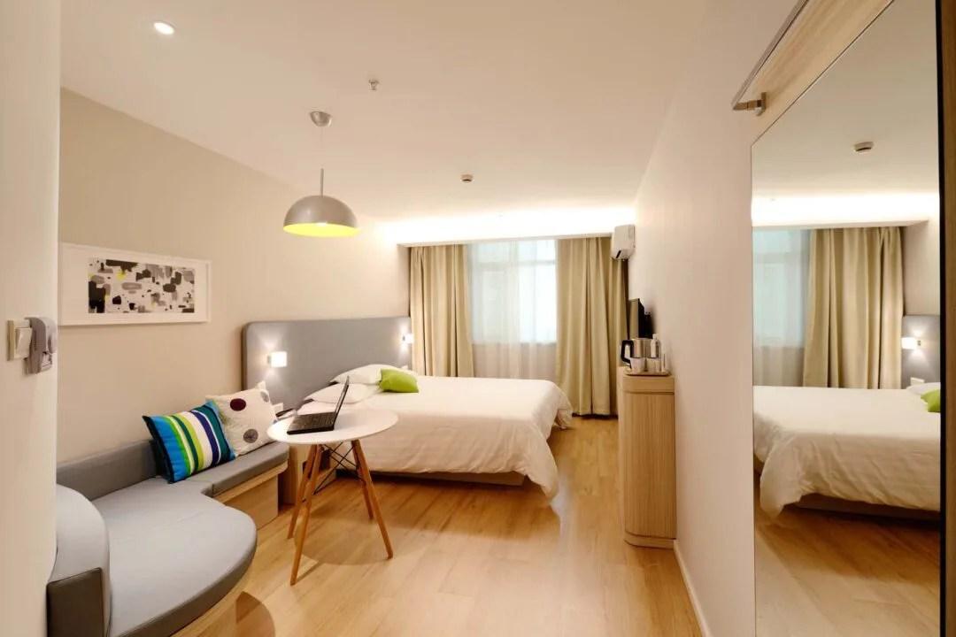 Un dormitorio inspirado en un hotel