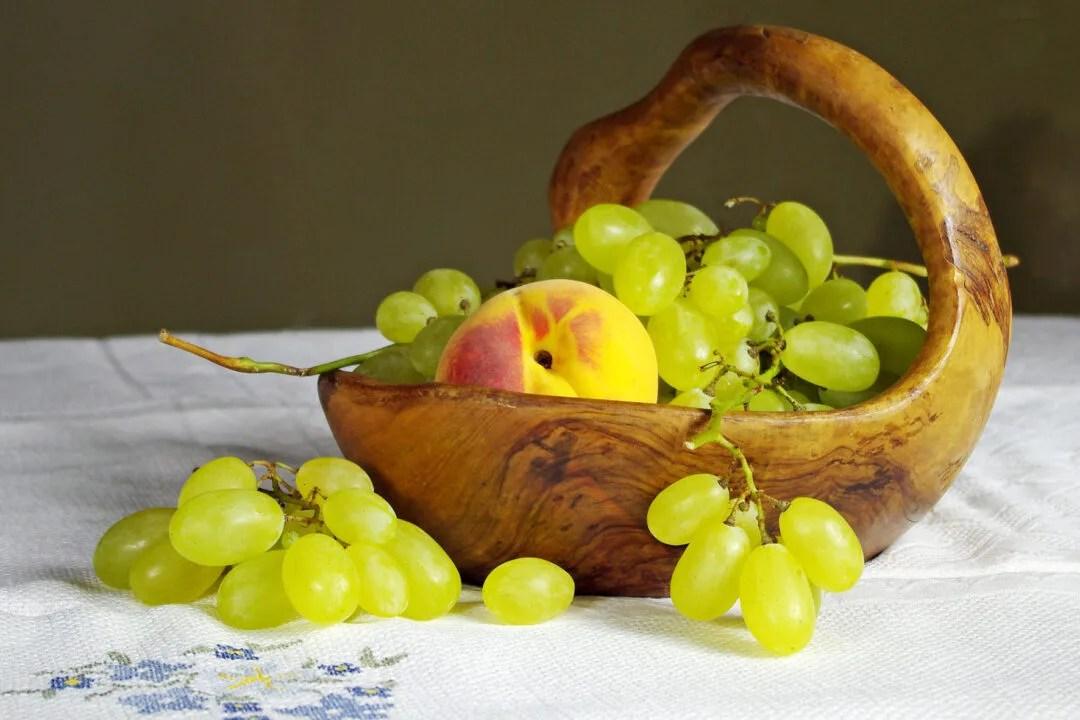 servir las uvas