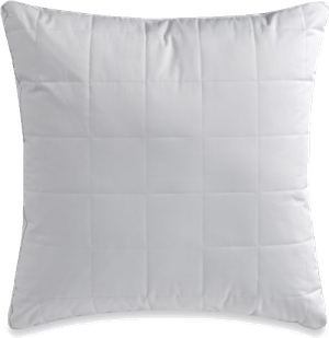 wamsutta gussetted quilted european square pillow