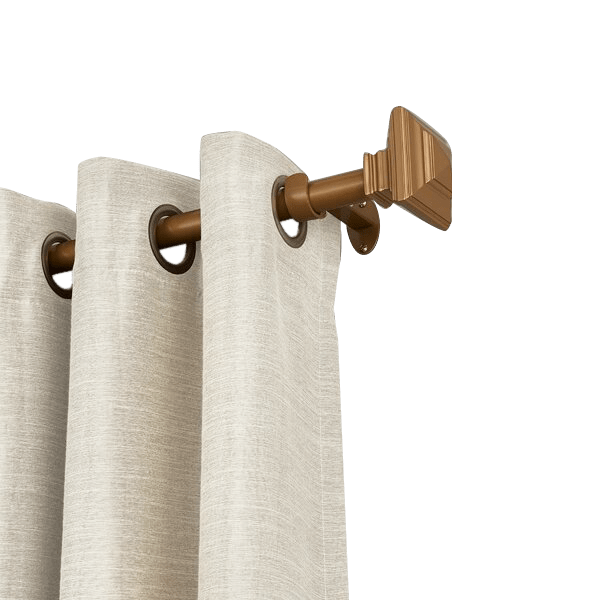brenton stacked square curtain hardware