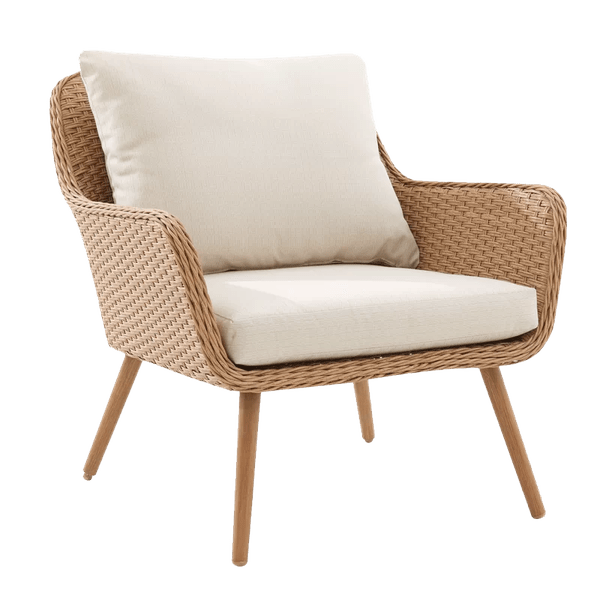 machen outdoor patio chair with cushions set of 2