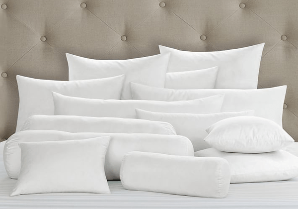 synthetic bedding pillow inserts 12 x 60 bolster