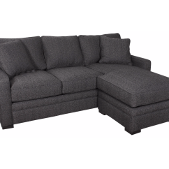 Small Sofa With Reversible Chaise Melrose Dalia Decorium Furniture