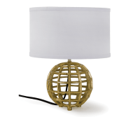 Inca Orb Table Lamp - Decorium Furniture