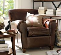 Most Pinned LALs: #8 Pottery Barn Manhattan Leather Chair ...