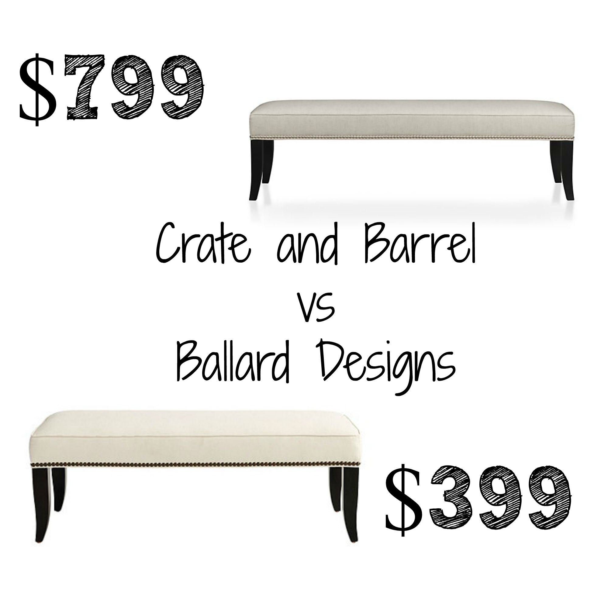 shower chair vs bench commercial high chairs crate and barrel colette king decor look alikes