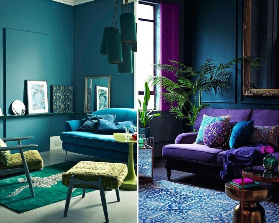 Jak dobrać kolory sąsiadujące do mieszkania - koło barw