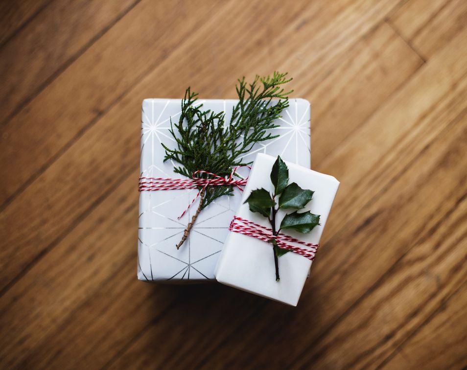 modne dekoracje świąteczne w stylu skandynawskim na boże narodzenie