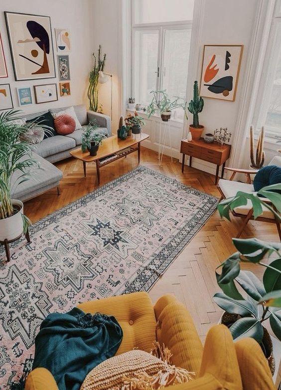 mieszkanie na lato w stylu boho